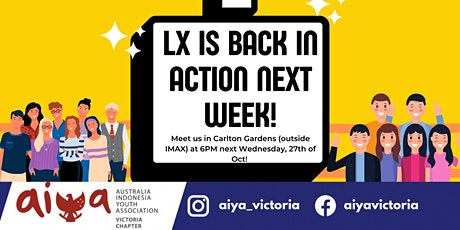 AIYA VIC: Language Exchange (LX) tickets