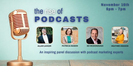 The Rise of Podcasts tickets
