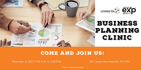 Living TN Business Planning Clinic tickets