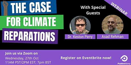 The Case for Climate Reparations tickets