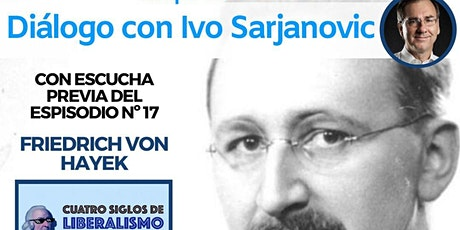 Diálogo con Ivo Sarjanovic con escucha previa de Podcast entradas