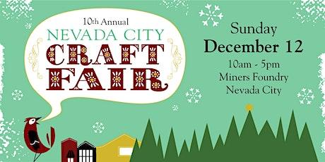 Nevada City Winter Craft Fair tickets