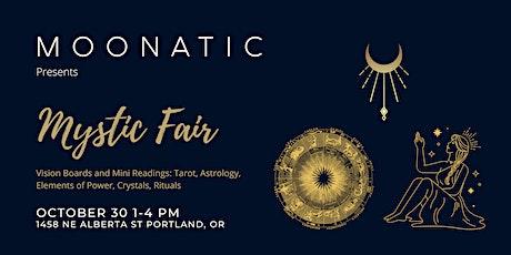 Mystic Fair at Moonatic tickets