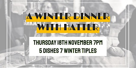 R+C Supper Club Winter Dinner with Chef Hatter tickets