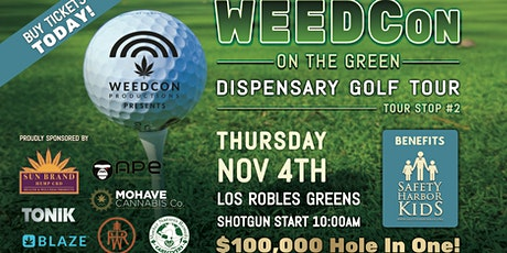 WEEDCon on the Green Golf Tournament tickets