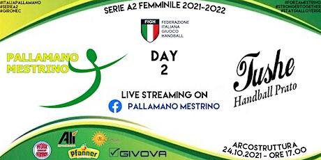 SERIE A2-GIR.C, DAY 2: ALÌ MESTRINO vs TUSHE PRATO biglietti