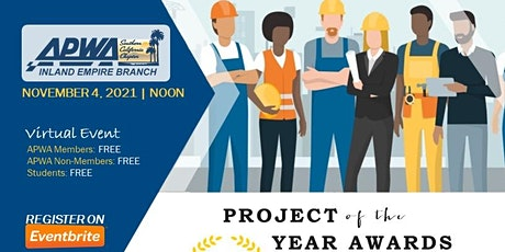 APWA-IE    Project of the Year and Scholarship Awards tickets