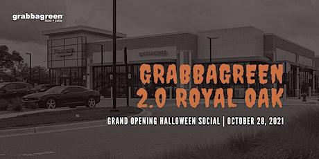 Grabbagreen 2.0 Royal Oak Halloween Social tickets
