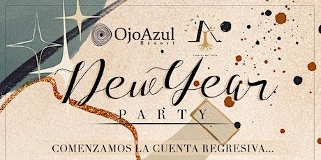 Cena de Año Nuevo OJOAZULRESORT tickets