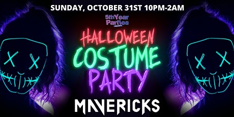 HALLOWEEN COSTUME PARTY @ Maverick's | UO, CU & AC Official 2021 Event tickets