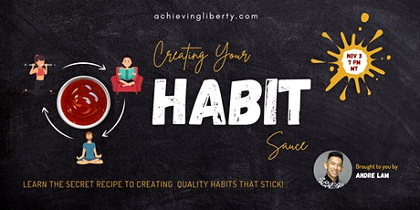 Creating your Habit Sauce tickets