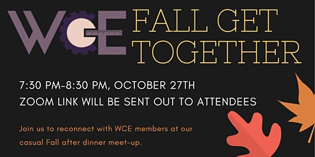 WCE Fall Get Together tickets