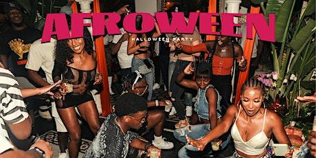 AFROWEEN (Afrobeats Halloween Party) tickets
