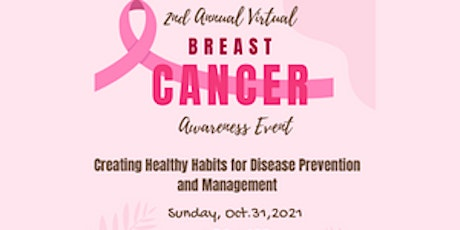 Breast Cancer Event: Creating Healthy Habits for Disease Prevention tickets