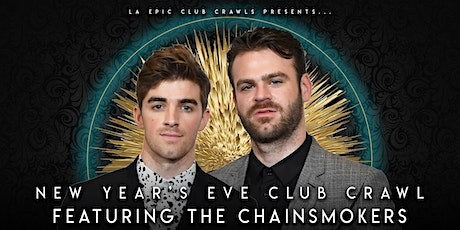 2021 New Years Eve Las Vegas Club Crawl Featuring The Chainsmokers tickets