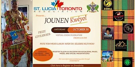 Jounen Kwéyol Virtual Celebration tickets