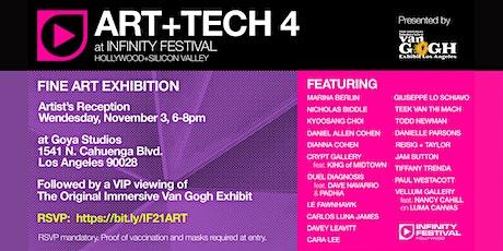 ART+TECH 4 Artist's Reception tickets