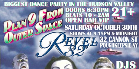 Saturday October 30th: Plan 9 From Outer Space at Revel 32 tickets