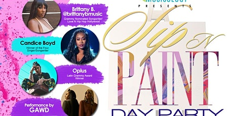 MUSICOLOGY presents: SIP N PAINT DAY PARTY & CONVERSATION w/ SPECIAL GUEST tickets
