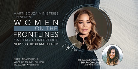 Marti Souza Ministries Presents Women On The Frontlines tickets