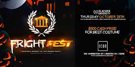 University Thursdays - Fright Fest (Costume Party) tickets