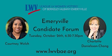 Emeryville City Council Candidate Forum tickets