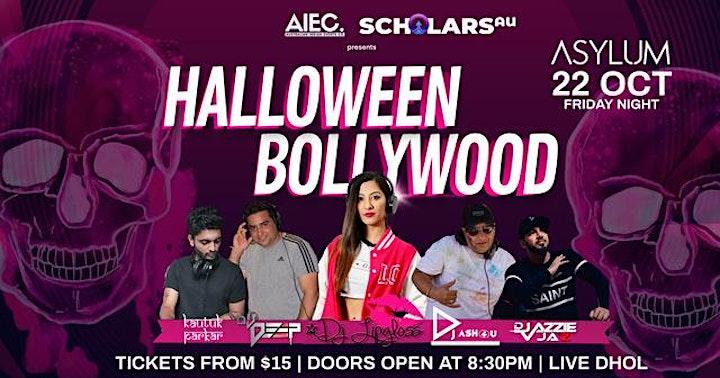 Halloween Bollywood Night image