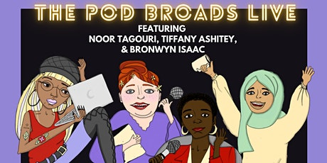The Pod Broads Live Recording and Podcast Party tickets