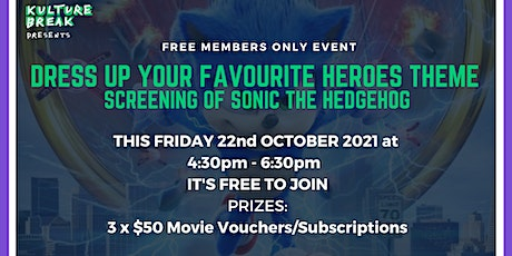 KB Members Only Movie Night + Dress up your favourite Heroes Theme tickets