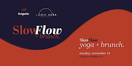 Slow Flow Yoga + Brunch tickets