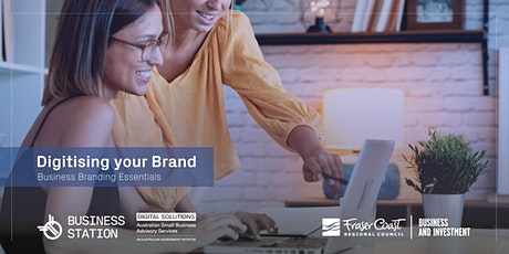 Digitising your Brand - Branding Essentials by Jarryd - Hervey Bay [FW] tickets