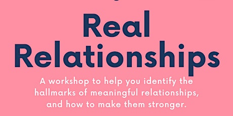 Real Relationships 2021 MCCS Marine Corps Family Team Building tickets