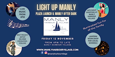 Light Up Manly - Plaza Launch & Manly After Dark tickets