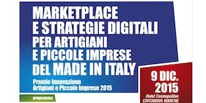 Marketplace e Strategie Digitali per Artigiani e Piccol...