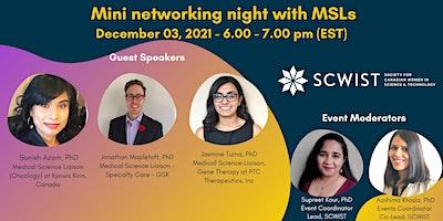 Mini networking night with MSLs
