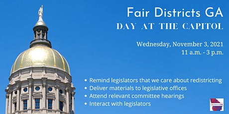 Fair Districts GA Day at the Capitol tickets