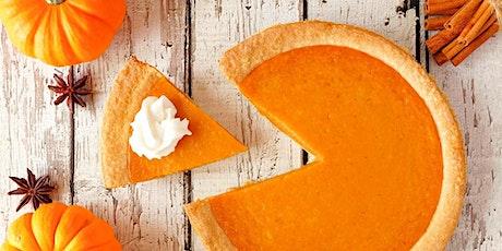 Online Fresh Pumpkin Pie Baking Class: With Real Pumpkin - Easy & Delicious tickets