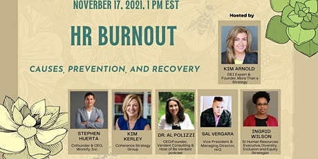 HR Burnout Causes, Prevention, and Recovery tickets