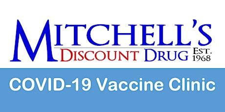 Johnson & Johnson COVID-19 Vaccine Clinic (Ages 18+) tickets