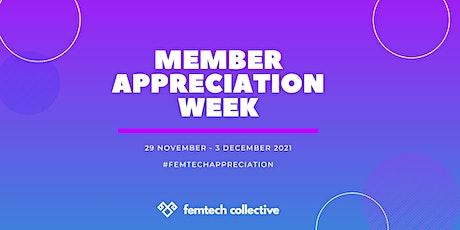 LONDON - Femtech Cocktail Hour: Member Appreciation Week tickets