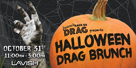 Haus of Drag: Halloween Drag Brunch tickets