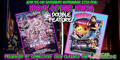 Night of the Ninja Double Feature tickets