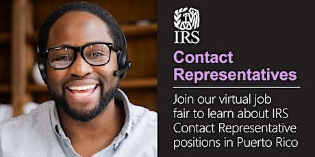 Virtual Job Fair for Contact Representative Positions in Puerto Rico tickets