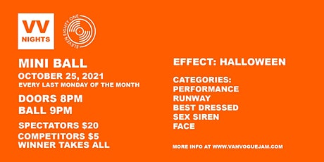VAN VOGUE NIGHT: Halloween Edition tickets