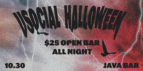 Halloweekend at Java Bar: $25 All You Can Drink tickets
