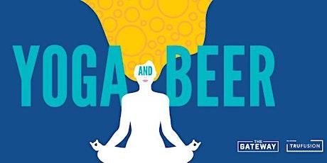 Yoga & Beer tickets
