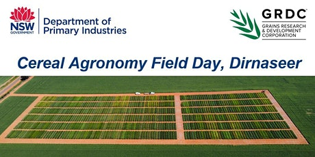 Cereal Agronomy Field Day tickets
