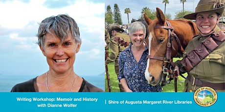 Memoir and History Writing: A Workshop with Diane Wolfer tickets