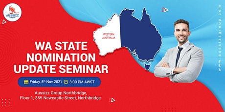 WA State Nomination Update Seminar tickets