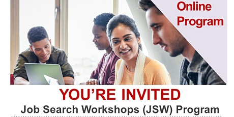 Free Online Job Search Workshops for Newcomers to Canada tickets